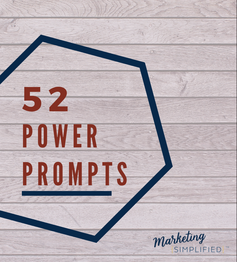 52 Power Prompts