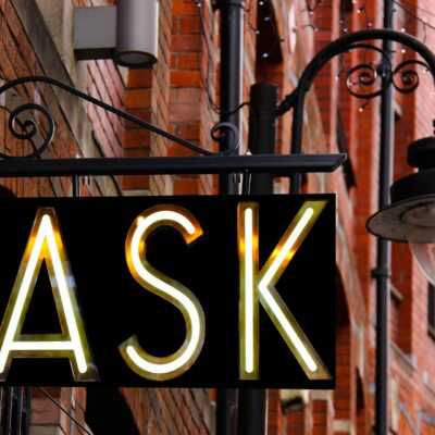 If your content is getting dull, ask more questions