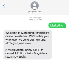 Strategic Facebook move indicates it's time to get SMS marketing savvy